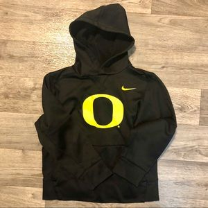 Nike Oregon Ducks Therma Hoodie Girls Small